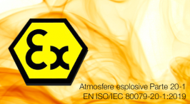 UNI CEI EN ISO/IEC 80079-20-1:2020 | Atmosfere esplosive Parte 20-1