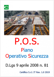 Modello Piano Operativo Sicurezza POS compilabile