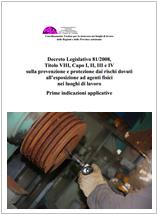 Guida Ispesl per applicazione rischi agenti fisici D. Lgs. 81-2008
