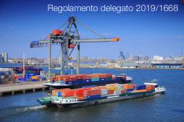 Regolamento delegato 2019/1668