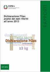 Rapporto FGAS 2013 - ISPRA