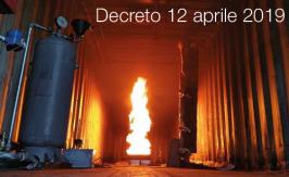 Decreto 12 aprile 2019
