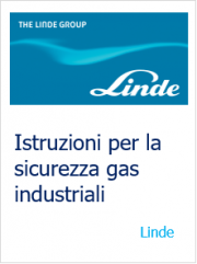 Istruzioni per la sicurezza gas industriali Linde