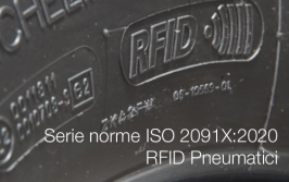 Serie norme ISO 2091X:2020 | RFID Pneumatici