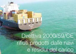 Direttiva 2000/59/CE   rifiuti prodotti dalle navi e i residui del carico