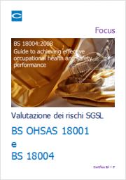 BS 18004 Il Metodo Valutazione dei Rischi nei SGSL