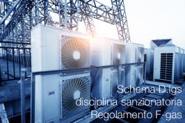 Schema D.lgs disciplina sanzionatoria Regolamento F-gas