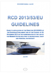 Guidelines RCD Directive 2013/53/EU