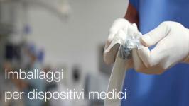 Imballaggi per dispositivi medici