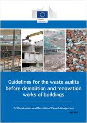Linee guida audit rifiuti lavori demolizione e ristrutturazione