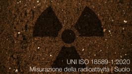 UNI ISO 18589-1:2020 Misurazione della radioattività   Suolo