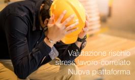 Valutazione rischio stress lavoro-correlato   Nuova piattaforma