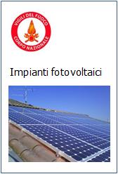 Guida per l'installazione degli impianti fotovoltaici - VVF