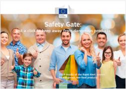 Relazione annuale Safety Gate 2018
