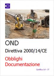 Direttiva 2000/14/CE OND: Obblighi e Documentazione
