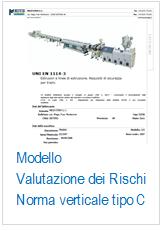Modello Valutazione rischi Direttiva macchine su norma di tipo C