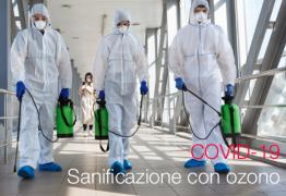 COVID -19   Sanificazione con Ozono