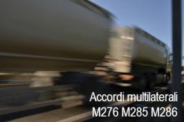 ADR: l'Italia sottoscrive gli Accordi multilaterali M276, M285 e M286