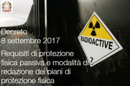 Decreto 8 settembre 2017