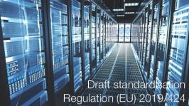 Draft standardisation   Regulation (EU) 2019/424