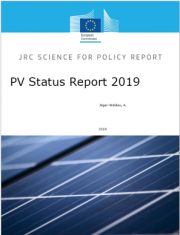Photovoltaics status report 2019