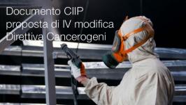 Documento CIIP sulla proposta di IV modifica Direttiva Cancerogeni
