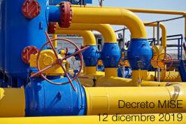 Decreto MISE 12 dicembre 2019