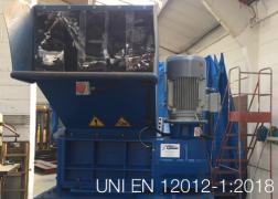 UNI EN 12012-1:2018 | Requisiti di sicurezza per granulatori a lame