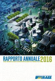 9° Rapporto Annuale RAEE 2016