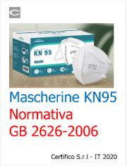 Mascherine KN95: Normativa GB 2626-2006