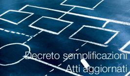 Decreto semplificazioni 2020 | Atti aggiornati
