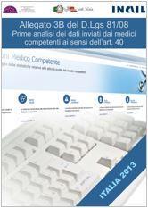 Medico competente, pubblicate le prime analisi dei dati relativi all'All.3B del D.Lgs. 81/2008