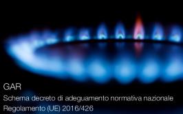 GAR: Schema decreto di adeguamento normativa nazionale Regolamento (UE) 2016/426