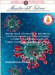 Misure VVF per il contrasto contagio SARS-CoV-2 luoghi di lavoro