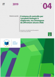 Relazione speciale n. 04/2019 | sistema di controllo prodotti biologici