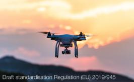Draft standardisation Regulation (EU) 2019/945
