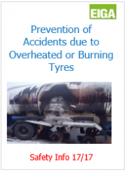Prevention of Accidents due to Overheated or Burning Tyres