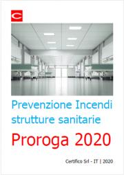 Tabella di lettura PI strutture sanitarie: Proroga 2020