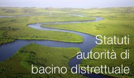 Approvazione degli statuti delle autorità di bacino distrettuale