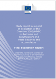 Study report Directive 2006/66/EC | 2018
