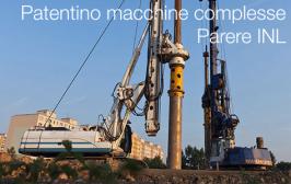 INL: Precisazioni sul patentino di macchine complesse fondazioni e perforazioni