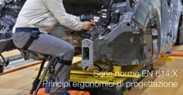 Serie norme EN 614:X   Principi ergonomici di progettazione