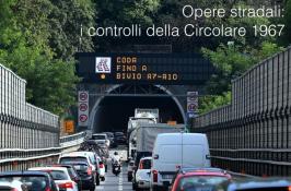 Opere stradali: i controlli della Circolare 1967