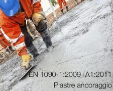 EN 1090-1:2009+A1:2011: applicazione piastre di ancoraggio