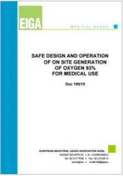 Safe design and operation of on site generation of oxygen 93% for medical use