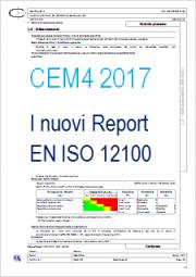 CEM4 2017: i nuovi report EN ISO 12100
