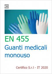 EN 455 | Guanti medicali monouso