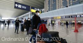 Ordinanza 07 Ottobre 2020