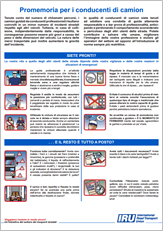 Checklist del camionista - Generale e carico