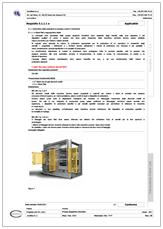 Scheda di Valutazione dei Rischi in forma Check list: CEM4